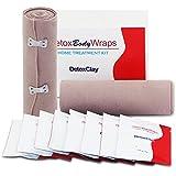 Clay Body Wrap NEUTRIHERBS Detox Clay Body Wraps Body Powders Home Treatment Kit for Lose Inches Tone Tighten Reduce Cellulite