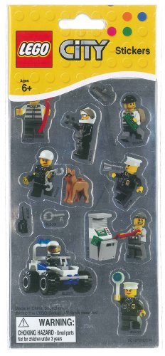 West Designs LEGO Stickers