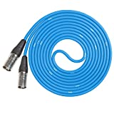 LyxPro CAT6 Shielded Ethercon RJ45 Cable - 20' Feet Blue