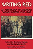 img - for Writing Red: An Anthology of American Women Writers, 1930-1940 book / textbook / text book