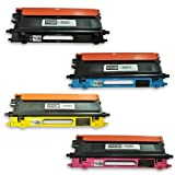 TonerBoss BCLTN115CSA Remanufactured Brother TN115 Toner Cartridges for MFC-9840CDW, MFC-9440CN, HL-4070CDW, HL-4040CN (Pack of 4)
