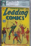 Leading Comics #1 PGX 7.0 Green Arrow DC
