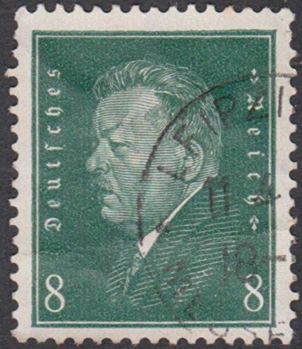Friedrich Ebert 8 Pfennig German Reich Postage Stamp