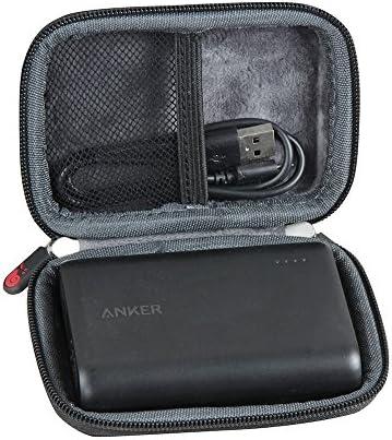 Estuche duro de goma EVA marca Hermitshell para viaje, para cargador portátil Anker PowerCore de 10000 mAh ultra compacto: Amazon.es: Electrónica