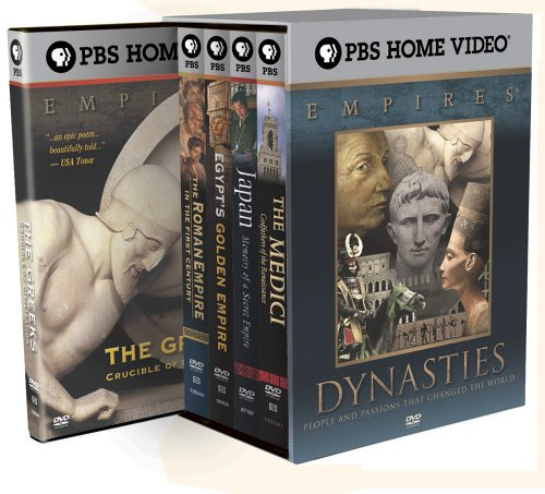 Empires Collection - The Dynasties (Egypt's Golden Empire / The Medici: Godfathers of the Renaissance / Japan: Memoirs of a Secret Empire / The Roman Empire in the First Century / The Greeks: Crucible of Civilization) by Paramount Home Entertainment