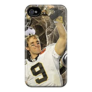 High-quality Durability Cases For Iphone 4/4s(new Orleans Saints)