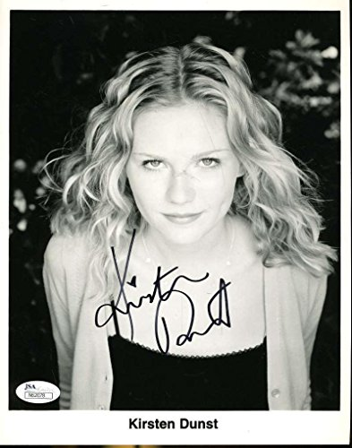 Kirsten Dunst Spiderman Signed Jsa Certified 8x10 Photo Authenticated