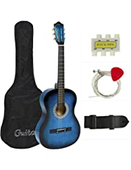 Best Choice Products Beginners Acoustic Guitar with Case, Str...