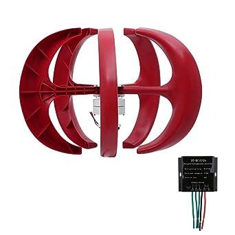 0fd647c57df kitech ildhrrd Aerogenerador 300 W Vertical viento generador 24 V Wind  Generador 5 hojas Wind Turbine