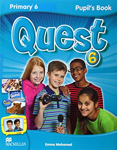 Quest Level 6 New Pupil's Book