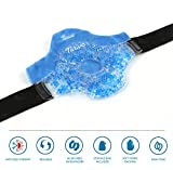 Knee-Wrap-Gel-Beads-Hot-Cold-Therapy-Compress-Pack-Fabric-Cover-Reusable-gel-beads-provides-both-ice-or-heat-pain-relief-and-rehab-treatments-Great-for-sports-injuries-arthritis-pain-more