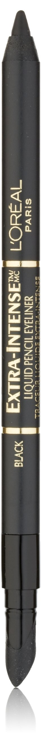 L'Oréal Paris Extra-Intense Pencil Eyeliner, Black, 0.03 oz. (Packaging May Vary)