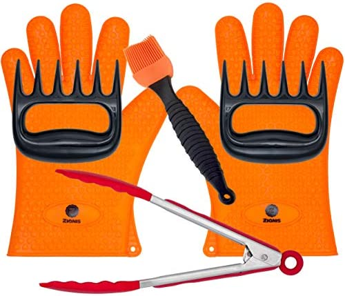Zianis Barbecue Gloves Shredder Barbeque