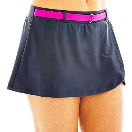 Free Country Belted Skirted Swim Bottoms Size XL