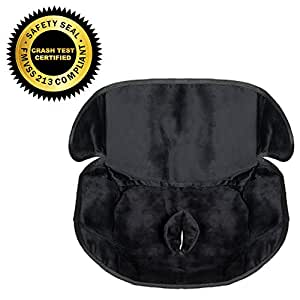 Piddle Pad Car Seat Protector by Silverflye- Crash Test Safety Certified- Waterproof Liner- Potty Training Seat Saver Pads for Infants Baby and Toddlers- Leak Free Technology- Machine Wash and Dry