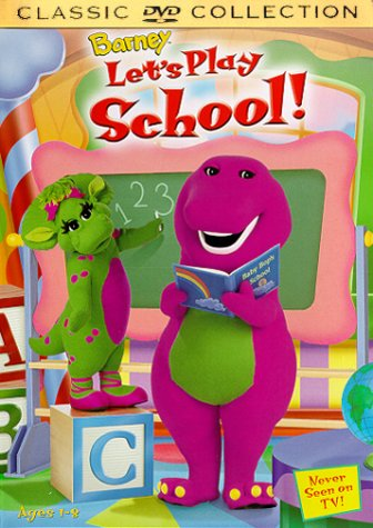 Barney - Let's Play School (Barney Dvd Live)