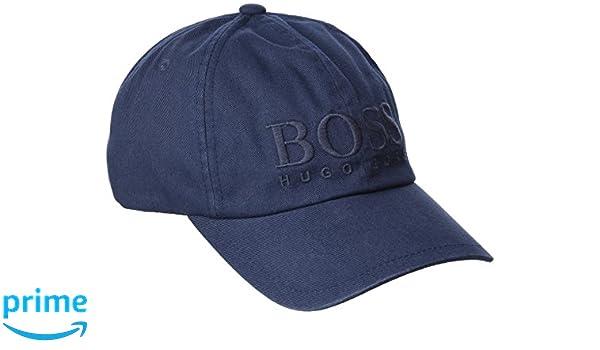 BOSS Casual Hombre Fritz Gorra de béisbol Not Applicable, Azul (Dark Blue 404), Talla única (Talla del Fabricante: ONESI): Amazon.es: Ropa y accesorios