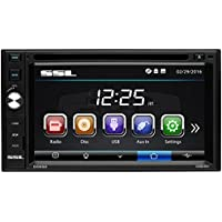 Sound Storm Laboratories DD658 in Dash, Double-Din, 6.2 Touchscreen, DVD/CD/USB/MP3 Player Receiver