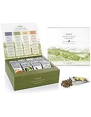 Tea Forte Thé Tea Forté SACHETS INDIVIDUELS Échantillonneur de thé en vrac, Assortiment de thés présentés en coffret, 28 sachets individuels différents - Thé noir, thé vert, thé blanc, tisane