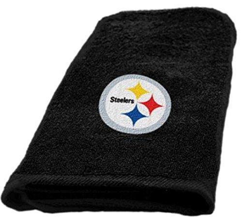 The Northwest Company NFL Pittsburgh Steelers Hand Towel (Steelers Towel Bath)