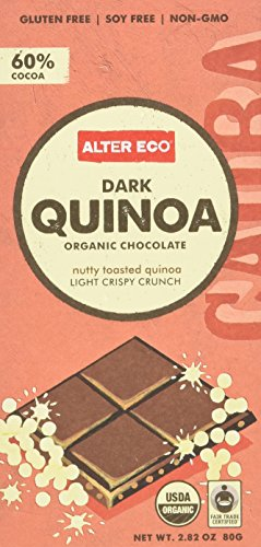 Alter Eco Organic Dark Quinoa Chocolate (pack of 12) by Alter Eco