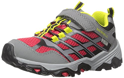 Kids' 11 Little Sneaker Kid Low Merrell Medium Waterproof Ac Moab Fst redgrey Us shtQrdC
