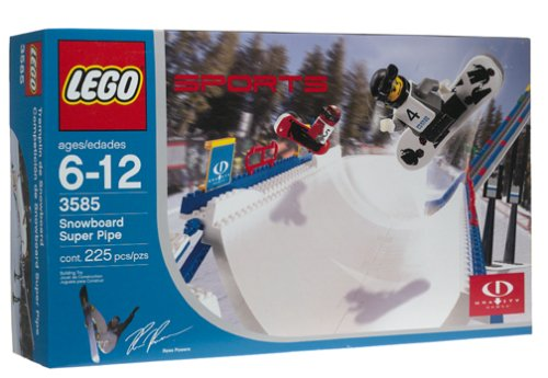 LEGO Sports Snowboard Super Pipe (3585)