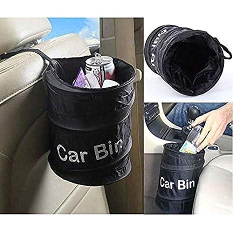 Z-KOKO Cartoon Car Garbage Bin Foldable Trash Can Storage Container