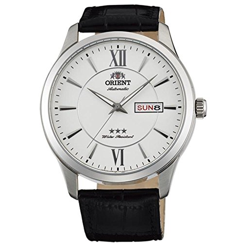orient white dial watch - 9