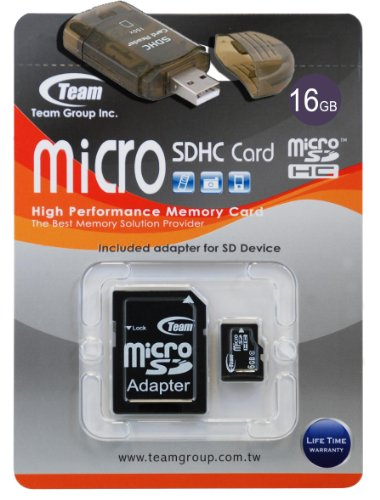 (16GB Turbo Speed Class 6 MicroSDHC Memory Card For T-MOBILE MYTOUCH 2 MYTOUCH 3G. High Speed Card Comes with a free SD and USB Adapters. Life Time Warranty.)