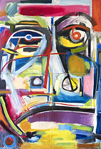 The Archetype big abstract portrait modern art