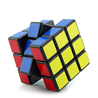 Speed Cube, Suvevic 3x3x3 Sticker Speed Cube Smooth Magic Cube Puzzle (enhanced version) from Suvevic