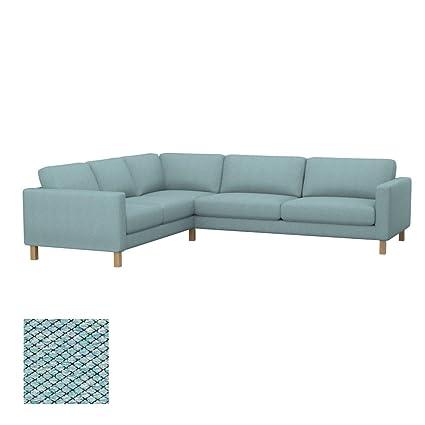 Amazon.com: Soferia - Replacement Cover for IKEA KARLSTAD 2+3/3+2 ...