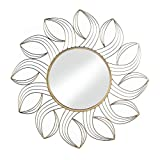 Tom & Co. GOLDEN PETALS WALL MIRROR