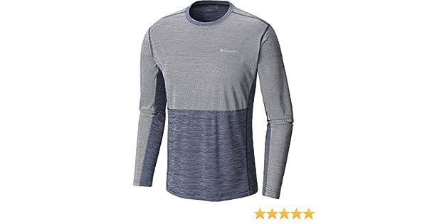 71601ec88dd Columbia Mens Solar Chill Long Sleeve Top at Amazon Men's Clothing store: