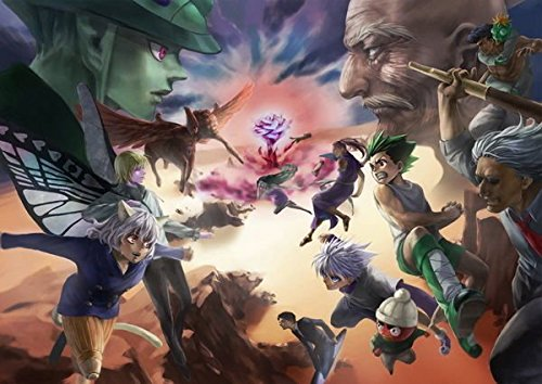 Tomorrow sunny 079 Hunter X Hunter - Neferpitou Gon Killua Fight Anime 20