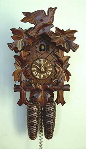 8-Day Black Forest Traditional Cuckoo Clock