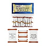 Egglo Scripture Scrolls (12) – Fun Religious/ Christian Easter Egg Filler Toys for Your Kid's Basket