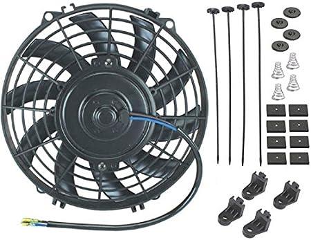 American Volt - Ventilador de enfriamiento eléctrico de 12 voltios ...