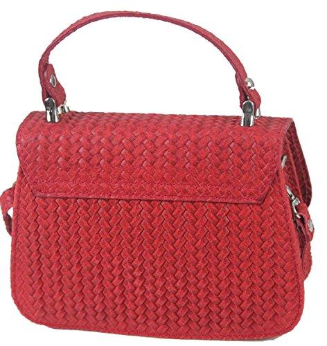 My-Musthave - Bolso al hombro para hombre Rojo rojo medium