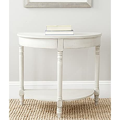 Safavieh American Home Collection Randell White Birch Console Table
