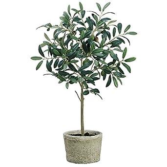 artificial olive tree in pot 26 h industrial. Black Bedroom Furniture Sets. Home Design Ideas