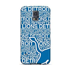 New Arrival Case Specially Design For Galaxy S5 (detroit Lions)
