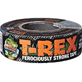 T-REX Ferociously Strong Duct Tape, 1.88 in. x 35 yd., 1 Roll, Dark Gunmetal Gray (240998)