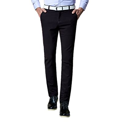 WSPLYSPJY Men Tops Standard Fit Fashion Printed Grid Business Dress Shirt