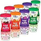 Plum Organics Super Puffs Variety Pack, 1.5 Ounce
