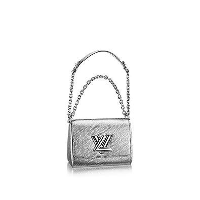 ba5ece24c02c Authentic Louis Vuitton Epi Leather Twist PM Purse Handbag Article  M50323  Argent Made in France  Handbags  Amazon.com