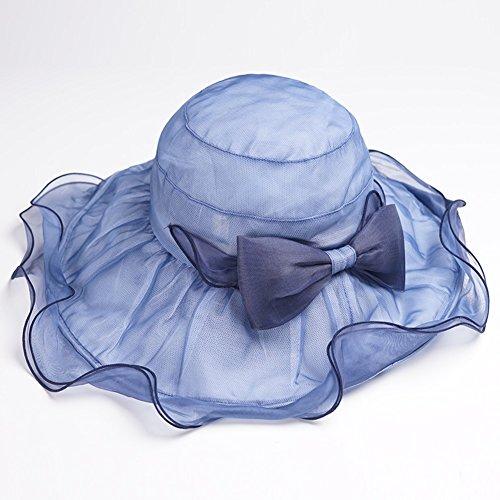 Viseras De Gran Sol Plegable La Sombrero Para Visera Protección El Solar Seda Viaje Muma Verano Playa Borde Femenino w1xqnAqBd