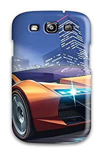 Durable Defender Case For Galaxy S3 Tpu Cover(grand Theft Auto Online 2015)