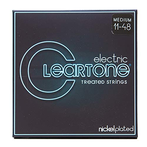 Cleartone Electric .011-.048 Medium Strings (Cleartone Guitar Strings)